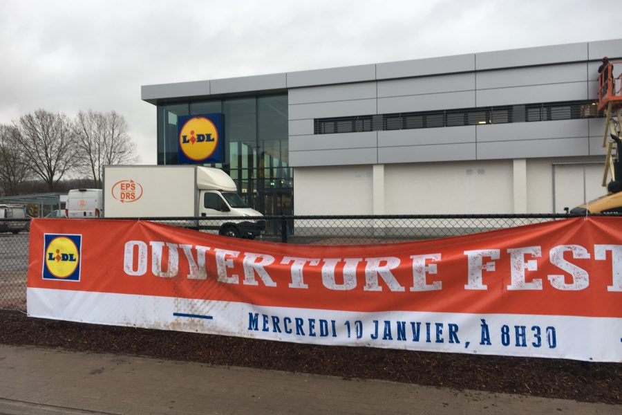 Le plus grand magasin Lidl de Belgique à Herstal !